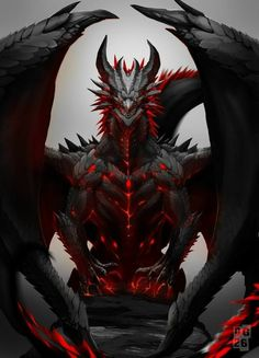 Read Bio from the story The Damaged Dragon Of Remnant by ivoDave (ivo Dave) with reads. Name: Y/n Rose Title: True Red Dragon Emp. Dark Fantasy Art, Fantasy Artwork, Mythical Creatures Art, Mythological Creatures, Dragon Illustration, Dragon Artwork, Dragon Drawings, Fantasy Beasts, Cool Dragons