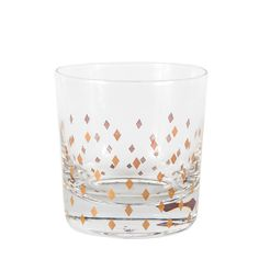 Diamond Double Old Fashioned Glass - Set of 4