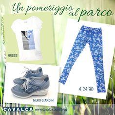 #outfit #summer #tempolibero #guess #nerogiardini #cavalca