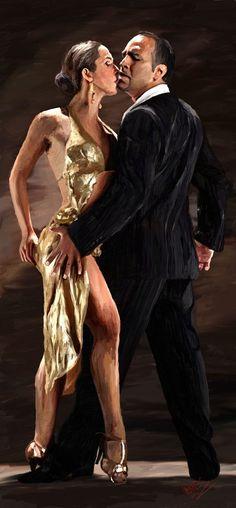Tango moment