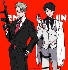 RM & Jin Fanart | ♡