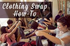 Clothing Swap How-to