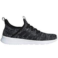 a5aca52bdb adidas Performance Women's Cloudfoam Pure Running Shoe, Black/Black/White,  8.5 M
