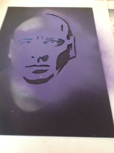 stencils til akrylmaling