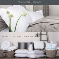 Archipelago is now the GCC agent for ‪#‎Beaumont‬&Brown - Luxury and quality ‪#‎bedlinen‬ and ‪#‎towels‬ for your homes.