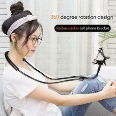 Flexible 360 Degree LazyNeck Smartphone Holder offer deal