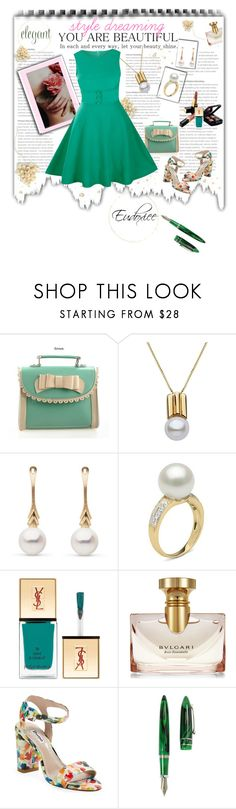 """Doxiee's Diary Log"" by eudoxiee ❤ liked on Polyvore featuring Chanel, Yves Saint Laurent, Bulgari, Dune, Stipula, eudoxiee and soulstyler"