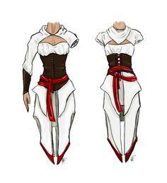 Altair ibn-La'Ahad Dress by mooncrystalz.deviantart.com - give it a few tweaks…