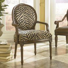 Hidden Treasures Chenille Arm Chair