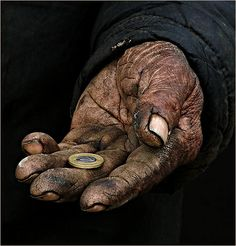 """""""Cure poverty with charity and giving generously."""" -Imam Ali (AS) We Are The World, People Of The World, Show Of Hands, Working Hands, Hand Photography, Hand Reference, Anatomy Reference, Old Hands, Imam Ali"""