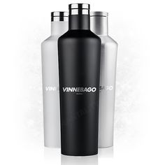 Vinnebago is the ideal way to keep your beverages perfectly chilled while on the go. After discovering a huge break-thru in traditional insulation technology, Vinnebago takes vacuum sealed bottles to the next level with a proprietary third layer of insula