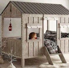 Voll das tolle Bett… hab ich eben bei selbstgemacht entdeckt ich hoffe mein Kind kann später auch so eins bekommen