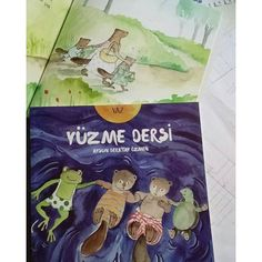 Yaz _ yüzme dersi #aysunberktayozmen #yuzmedersi #altınkitaplar #animalstory #childrenbook #picturebook #illustrasyon #artdrawing #artist #nature #çocukkitabısevenler