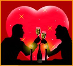 A time for romantic Valentine dinners...