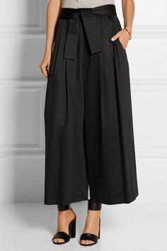 TOME | Cotton-blend wide-leg pants | NET-A-PORTER.COM