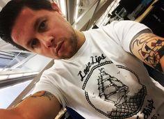 @snake_hips / @s85clothing / #Sailor85  #nautical #tshirt #anchor #streetwear #sailor #follow #clothing #apparel #aw #autumn #tattoos #ink #beards #beard #beardgang #beardenvy  #beardsandtats #beardedvillains by s85clothing