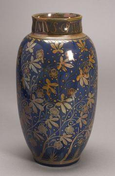 Pilkington's Royal Lancastrian Pottery Vase, England, 1911