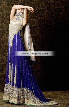 Heavy Embellished Anarkali Bridal Dress This striking bridal dress will surely grab attent