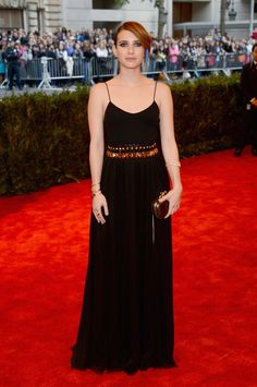 Emma Roberts attend the Costume Institute Gala for the