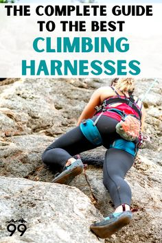 Your climbing harness is one of your most important and frequently used pieces of rock climbing gear. Learn how to choose the best one for your needs and check out reviews of the top 7 climbing harnesses on the market! Psst...they make an excellent rock climbing gift as well! I Rock climbing tips I Rock climbing gifts I Indoor rock climbing I Outdoor rock climbing