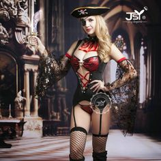 Cheap erotic costume for women, Buy Quality cosplay sexy costumes directly from China halloween pirate costumes Suppliers: 9738 High Quality Caribbean Pirate Costumes for Women Lady's Erotic Sexy Lingerie Pirate Cosplay Sexy Halloween Costumes Costumes Sexy Halloween, Costume Sexy, Adult Costumes, Costumes For Women, Cosplay Costumes, Devil Halloween, Halloween Ideas, Pirate Cosplay, Female Pirate Costume
