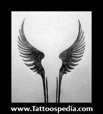 unique Geometric Tattoo - Viking Angel Wing Tattoos...