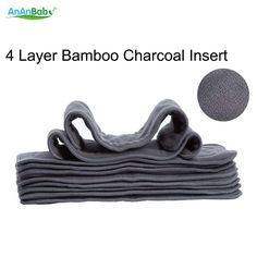 >> Click to Buy << Ananbaby 4 Layer Bamboo Charcoal Insert Cloth Diapers Inserts Nappy Changing Mat Baby Diapers Reusable Diaper Changing Pad #Affiliate