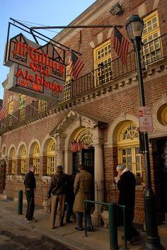 Historic restaurants in pA including 1. McGillin's Olde Ale House, Philadelphia