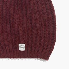 hint, hint – this Madewell softest ribbed beanie is on my wishlist #giftwell