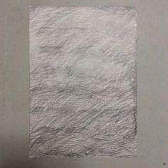 #WORK 038 AUG, 2015 297x210mm #pencil on #paper [tag] #abstract #drawing #beauty #simple #blank #space #void #indication #trace #deficiency #shading #foggy #shabby #aged #crease #minimal #blur #wave #sea #fade #oxidation #stain #zen #woodgrain #frottage  #禅