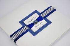 Blue Wedding Guest Book