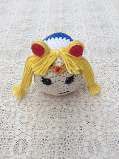 Sailor Moon Tsum Tsum pattern by Gianna Lee