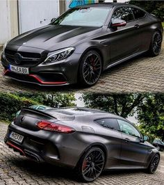 Mercedes C63 S Coupe