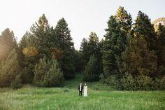 Gallatin Gateway Wedding / Montana / Photography: http://hughforte.com/