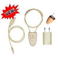 Bluetooth Kolye ve Casus Kulaklık Kablosuz Mini Bluetooth Mikro Gizli Wireless Kulakiçi Kulaklık