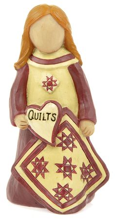 """Girl with """"Quilts"""" Heart  $7.99"""