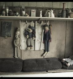 Inside an abandoned farmhouse in Belgium. It is owned by a wealthy gentlemen whose parents had been living here. Once they died he didn't care to go back. Everything is as it was, nothing was touched during this photo shoot. Sad