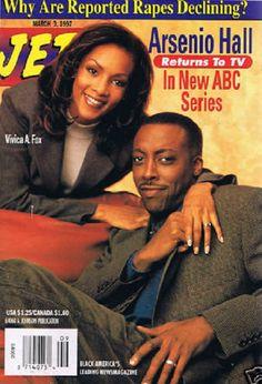 Jet Magazine - 1997 - Arsenio Hall Vivica A. Jet Magazine, Black Magazine, Life Magazine, African American Literature, African American Artist, African Art, American History, Ebony Magazine Cover, Magazin Covers
