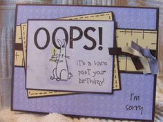 WT65 Oops! by jsbrooketrout - Cards and Paper Crafts at Splitcoaststampers