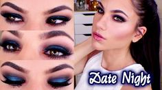 Midnight Blue Smokey Eye Date Night Makeup Tutorial using Too Faced Semi-Sweet Chocolate Bar Palette Watch Here: http://www.youtube.com/watch?v=sIJhNhcK3Ho