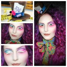 The mad hatter mismatched eye colours