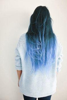 tie and dye gris bleu