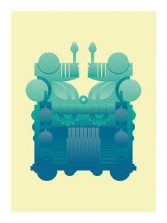 Emanuele Grittini - Golem illustration - Massoneria Creativa - www.massoneriacreativa.com