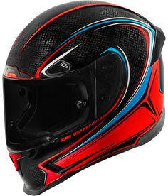 The best of modern technologies and the finest attention to detail, all for one purpose – high-velocity domination with flying colors. The Airframe Pro Halo… Sport Bike Helmets, Cool Motorcycle Helmets, Cool Motorcycles, Motorcycle Outfit, Sport Bikes, Full Face Helmets, Atv Parts, Carbon Fiber, Halo