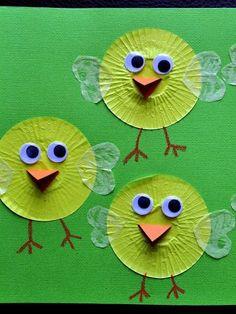9 cupcake liner crafts - Today's Parent