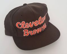 Vintage Cleveland Browns Starter Snapback Hat NFL VTG 99175d4499d7