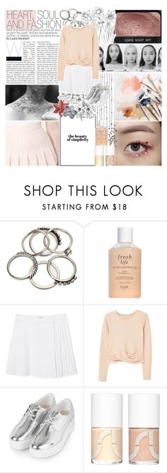 """""""Lights Down Low"""" by lucidmoon ❤ liked on Polyvore featuring Fresh, Monki, MANGO, Topshop and Uslu Airlines"""