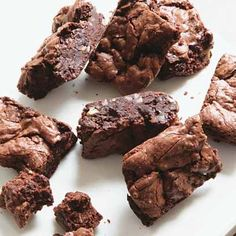 Hugh Fearnley-Whittingstall's ultra chocolate brownies | Baking Recipes | Chocolate Recipes | Red Online