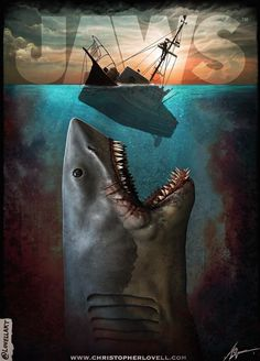 Jaws Movie Poster.......