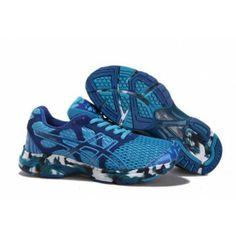 V50P Zapatillas Asics Gel-Noosa Tri 7 Hombre Azul Blanco